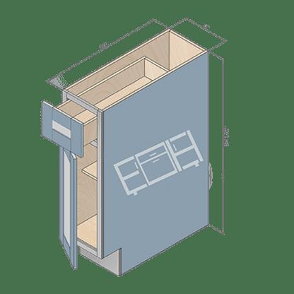 base cabinet b09-2