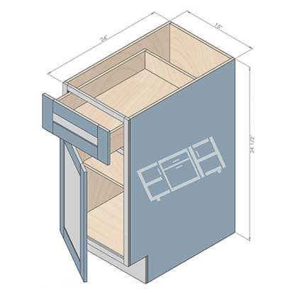 base cabinet b15-2