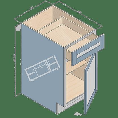 base cabinet b18