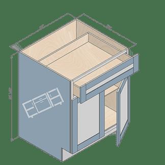 base cabinet b27