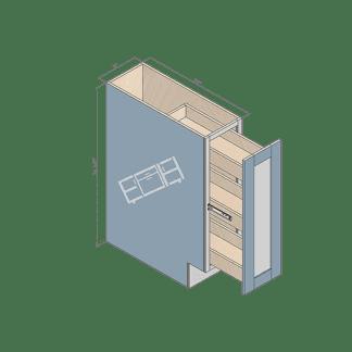 base cabinet bsr09