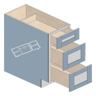 base cabinet db12