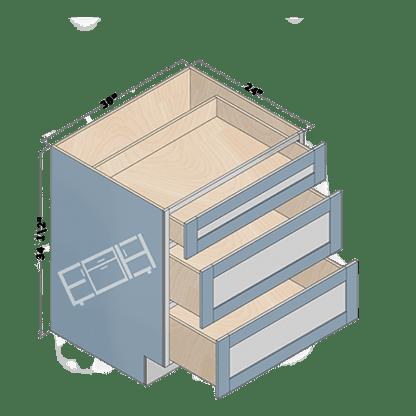 base cabinet db30