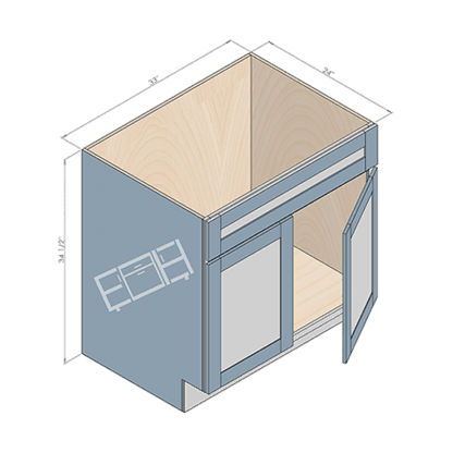 sink cabinet sb33