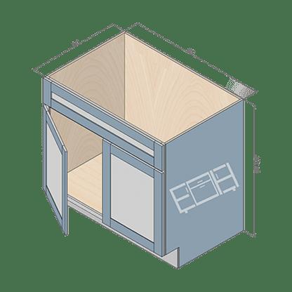 sink cabinet sb36-2