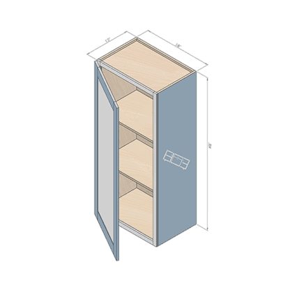 wall cabinet w184012-2