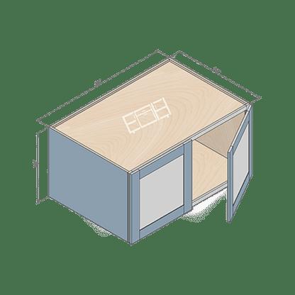 wall cabinet w361824