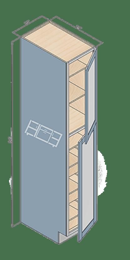 wall pantry wp158424