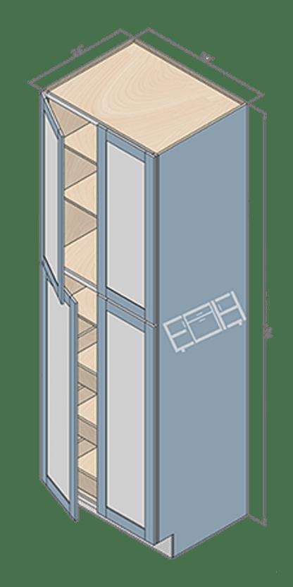wall pantry wp309424-2